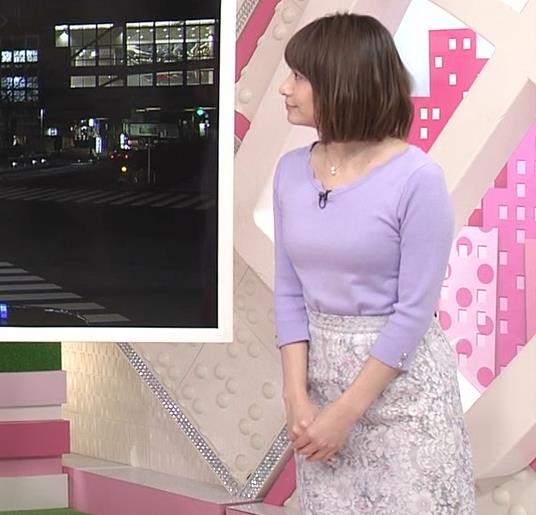 笹崎里菜アナ にっとおっぱいキャプ・エロ画像7