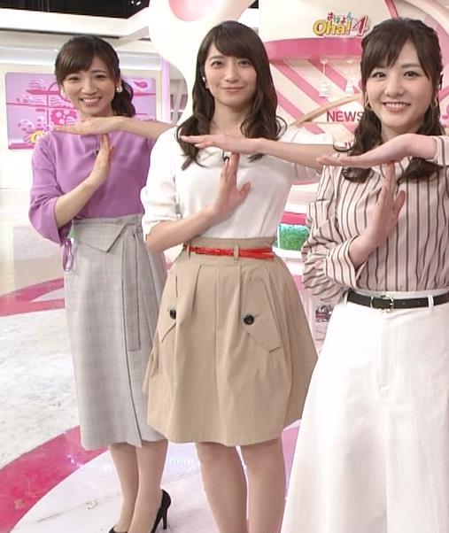笹崎里菜アナ 白い美脚キャプ・エロ画像3