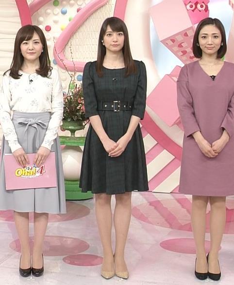 笹崎里菜アナ ミニスカワンピースキャプ・エロ画像2