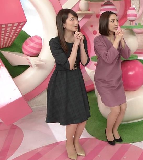 笹崎里菜アナ ミニスカワンピースキャプ・エロ画像4