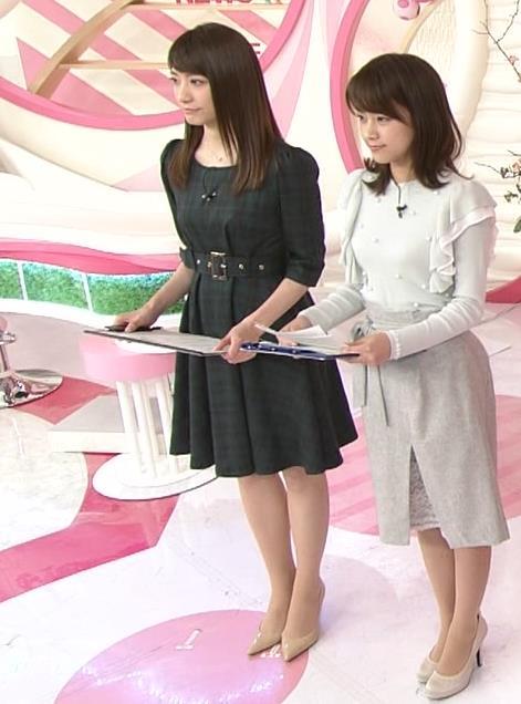 笹崎里菜アナ ミニスカワンピースキャプ・エロ画像5