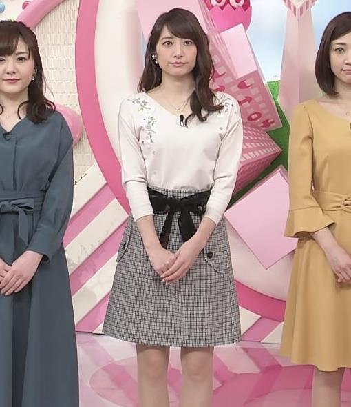 笹崎里菜アナ ニットおっぱいがクッキリしてるキャプ・エロ画像13
