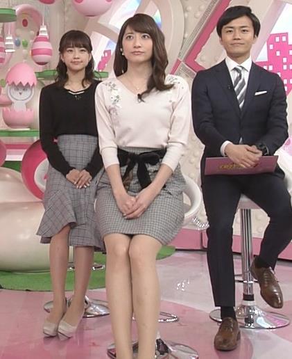 笹崎里菜アナ ニットおっぱいがクッキリしてるキャプ・エロ画像15