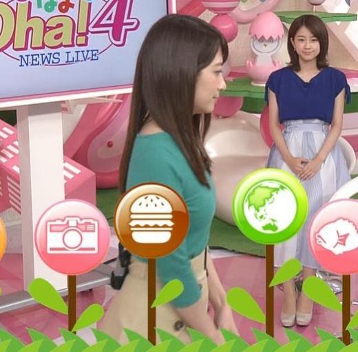 笹崎里菜 ニットおっぱい&横乳も!キャプ画像(エロ・アイコラ画像)
