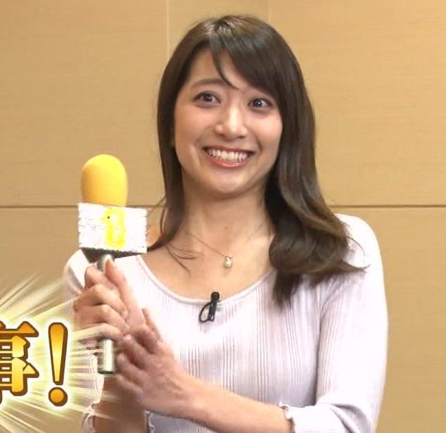 笹崎里菜アナ 乳のふくらみキャプ・エロ画像4