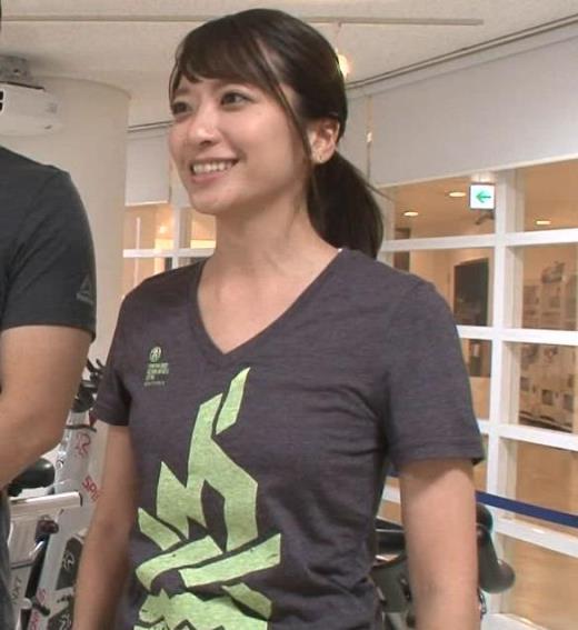 笹崎里菜 Tシャツおっぱいキャプ画像(エロ・アイコラ画像)