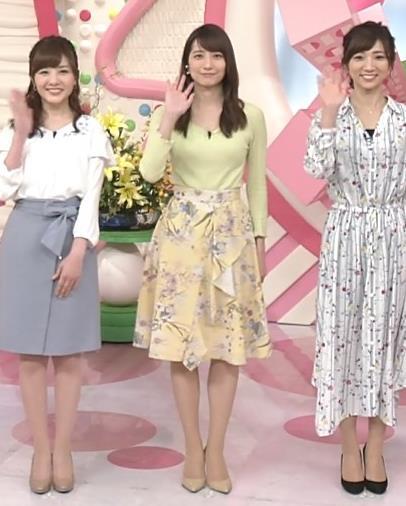 笹崎里菜アナ 安定のニット乳キャプ・エロ画像10