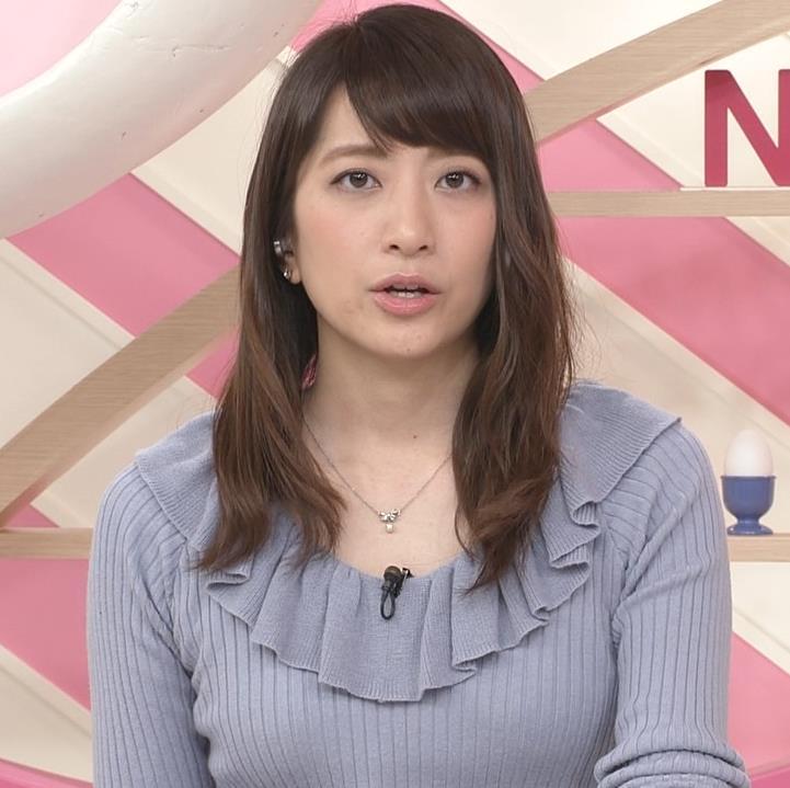 笹崎里菜アナ 乳がまたエロかったよキャプ・エロ画像3