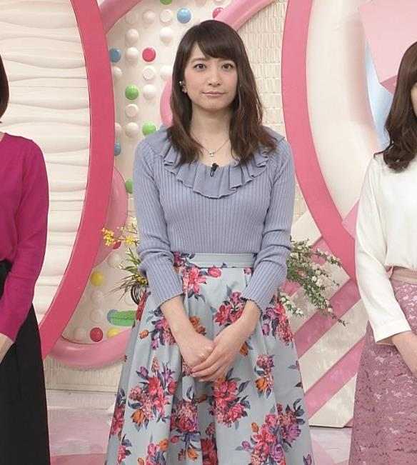 笹崎里菜アナ 乳がまたエロかったよキャプ・エロ画像4