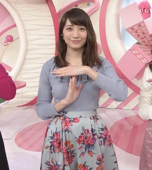 笹崎里菜アナ 乳がまたエロかったよキャプ・エロ画像5