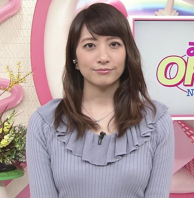 笹崎里菜アナ 乳がまたエロかったよキャプ・エロ画像10