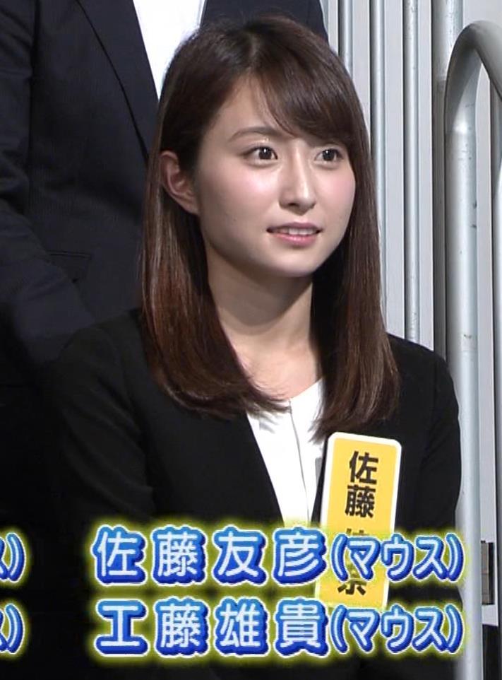 佐藤佳奈アナ 読売テレビ新人アナがかわいいキャプ・エロ画像3