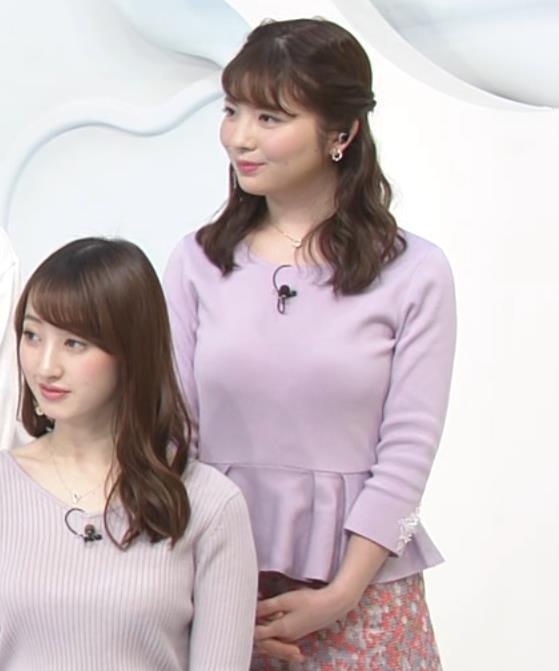 佐藤真知子アナ ムッチリ系女子アナの太もものアップキャプ・エロ画像
