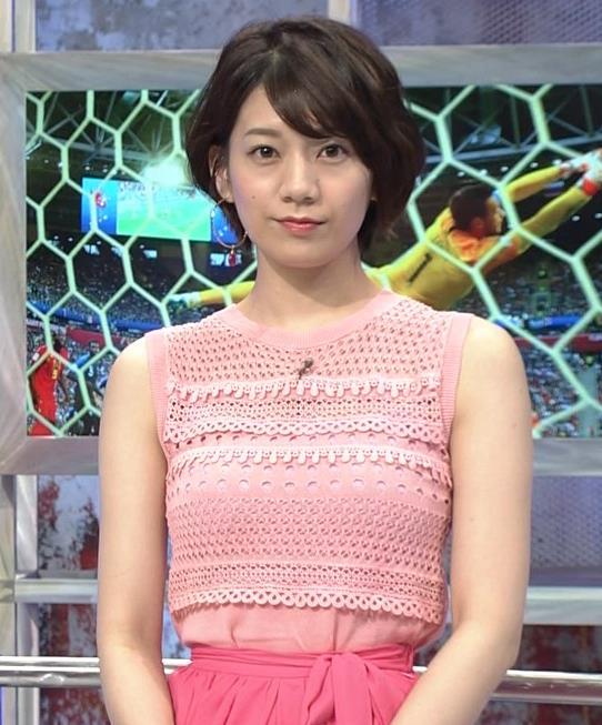 佐藤美希 おっぱいが目立つピンクのノースリーブキャプ・エロ画像