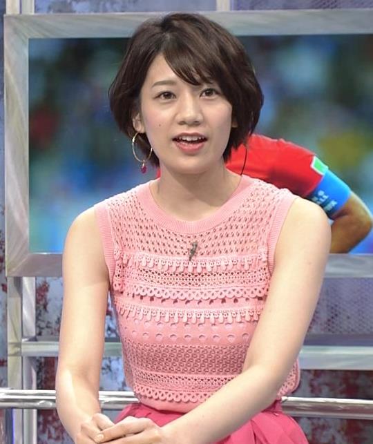 佐藤美希 おっぱいが目立つピンクのノースリーブキャプ・エロ画像2