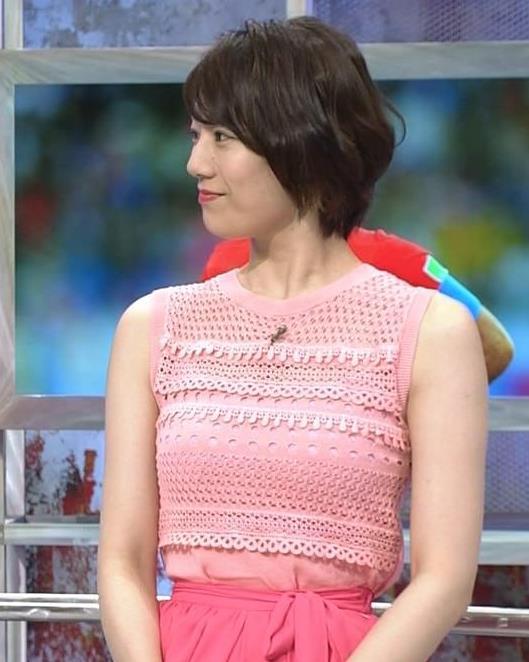 佐藤美希 おっぱいが目立つピンクのノースリーブキャプ・エロ画像4