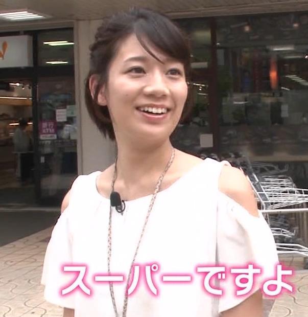 佐藤美希 前かがみでガッツリ胸チラキャプ・エロ画像