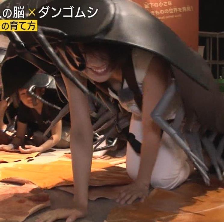 佐藤美希 胸チラでおっぱいアピールキャプ・エロ画像4