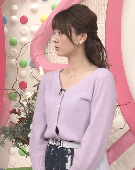 佐藤梨那アナ 日テレの美人アナキャプ・エロ画像