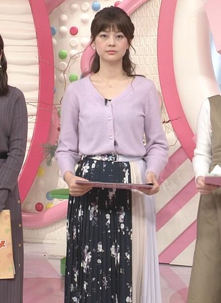 佐藤梨那アナ 日テレの美人アナキャプ・エロ画像6