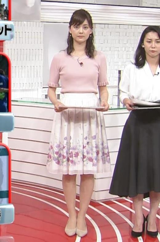 佐藤梨那 お胸が大きそうなニットおっぱい♡キャプ画像(エロ・アイコラ画像)