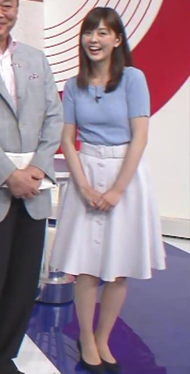 佐藤梨那アナ 半袖ニット乳キャプ・エロ画像3