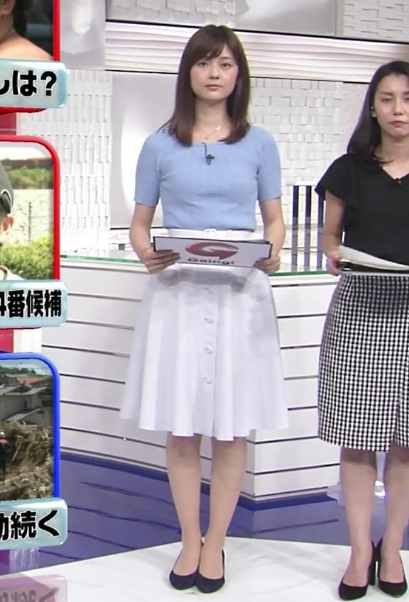 佐藤梨那アナ 半袖ニット乳キャプ・エロ画像4