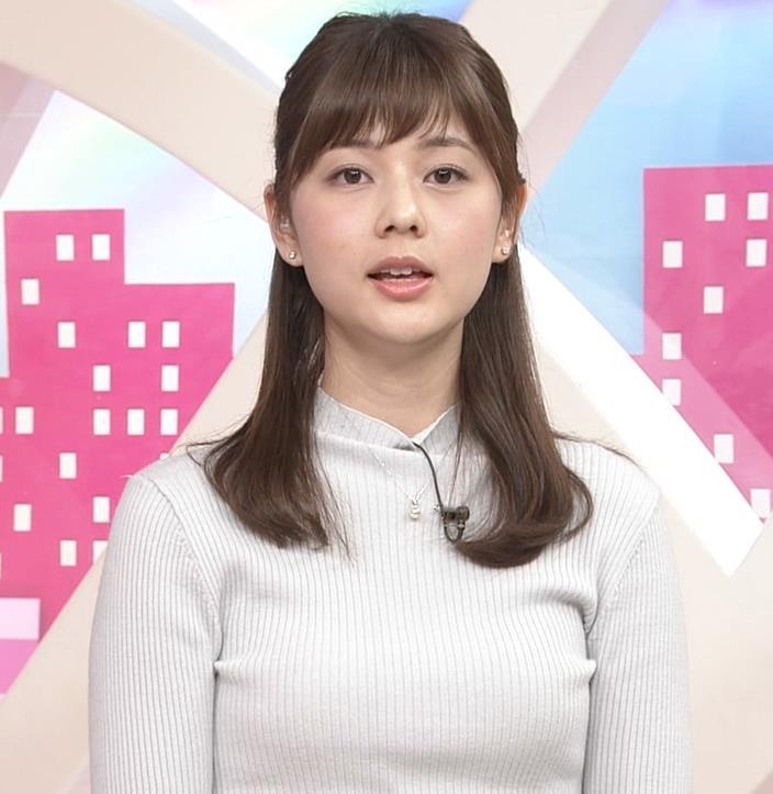 アナ エロかわいいニット乳キャプ・エロ画像4