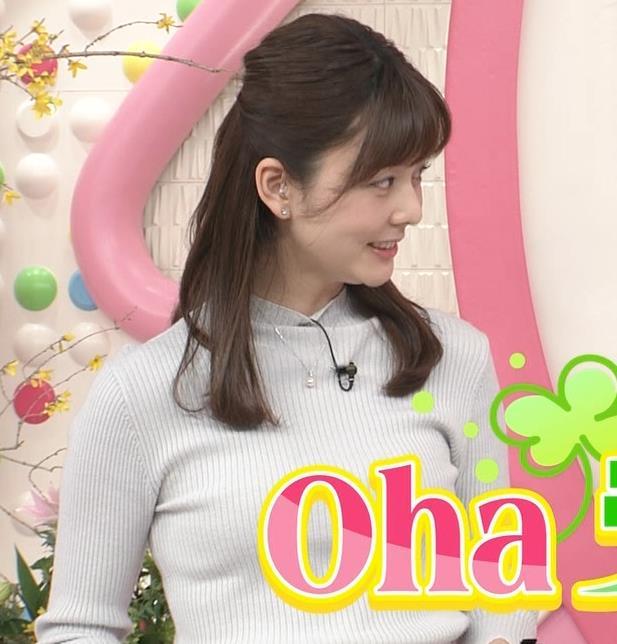 アナ エロかわいいニット乳キャプ・エロ画像6