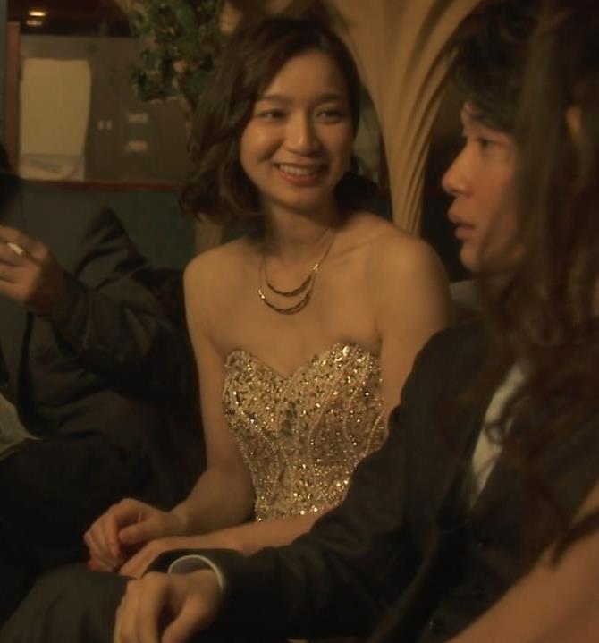 芹那 キャバ嬢役でフジテレビのドラマにエロ衣装で出てたキャプ・エロ画像3