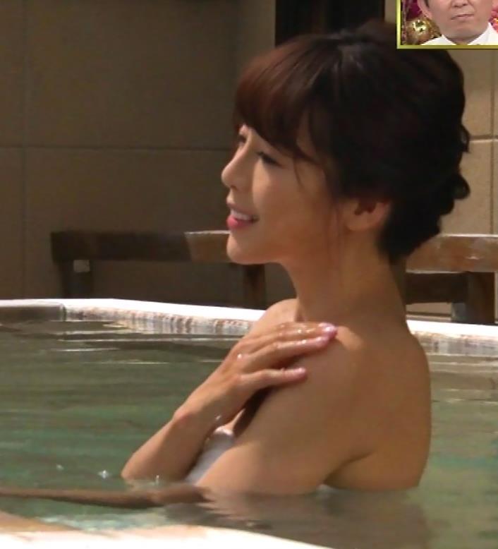 釈由美子 まだまだエロい温泉入浴シーンキャプ・エロ画像3