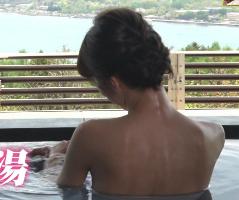 釈由美子 まだまだエロい温泉入浴シーンキャプ・エロ画像7