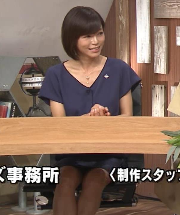 釈由美子 不用意に脚を開いてパンツ見えそうキャプ・エロ画像6