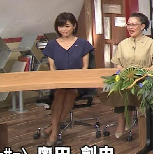 釈由美子 不用意に脚を開いてパンツ見えそうキャプ・エロ画像7