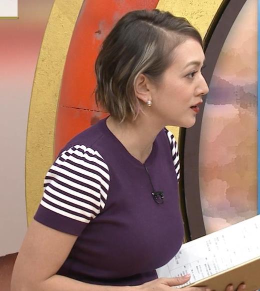 SHELLY Gカップ以上ありそうな巨乳がクッキリキャプ画像(エロ・アイコラ画像)