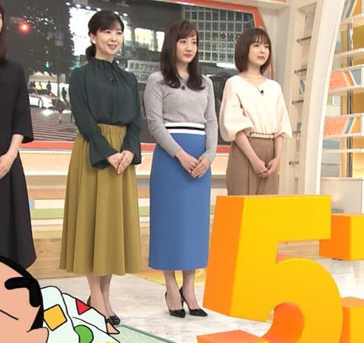 島本真衣アナ ニット巨乳キャプ・エロ画像6