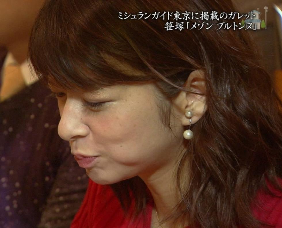 生野陽子アナ エロかったニットおっぱいキャプ・エロ画像3