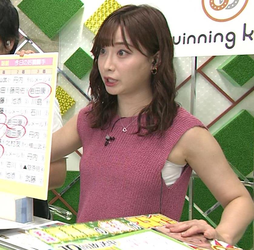 柴田阿弥 ワキ肉がエロいノースリーブキャプ・エロ画像3