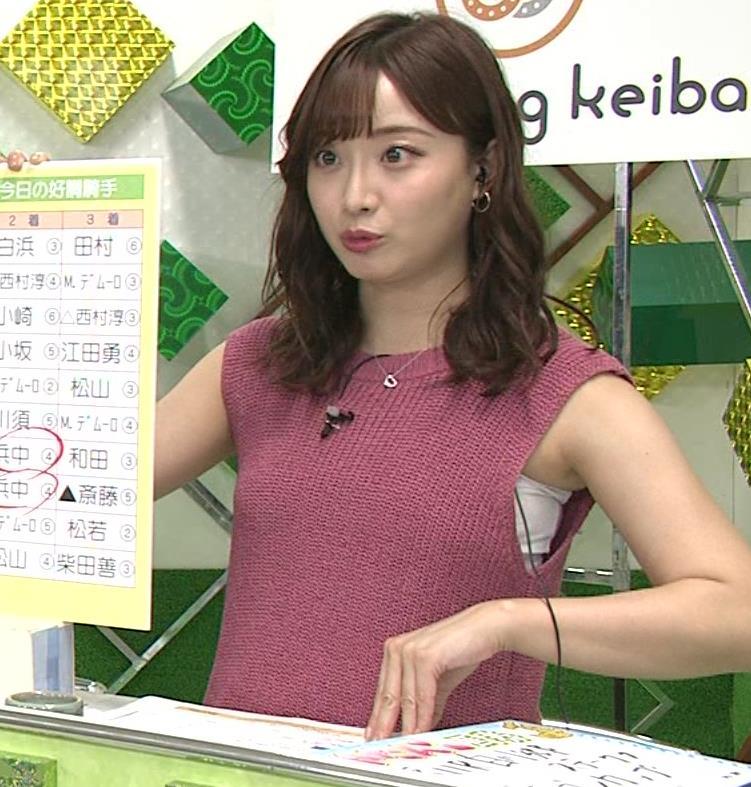 柴田阿弥 ワキ肉がエロいノースリーブキャプ・エロ画像6