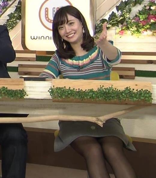 柴田阿弥 黒ストッキングデルタゾーンキャプ画像(エロ・アイコラ画像)