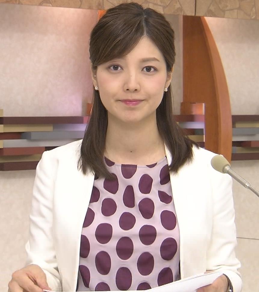 四位知加子アナ おっぱいがエロいTシャツキャプ・エロ画像7