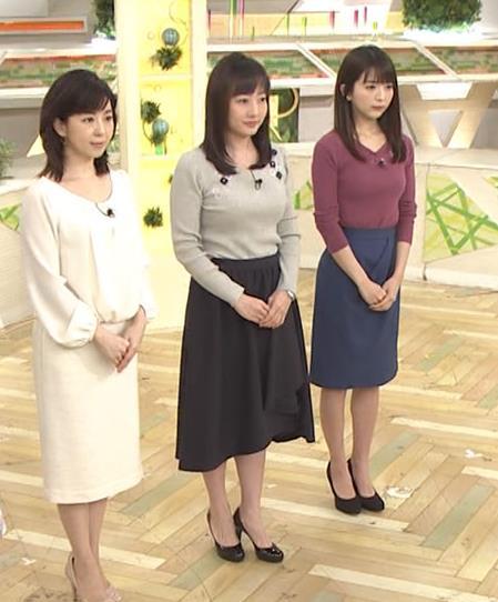 島本真衣アナ けっこうデカいニットおっぱい♡キャプ・エロ画像