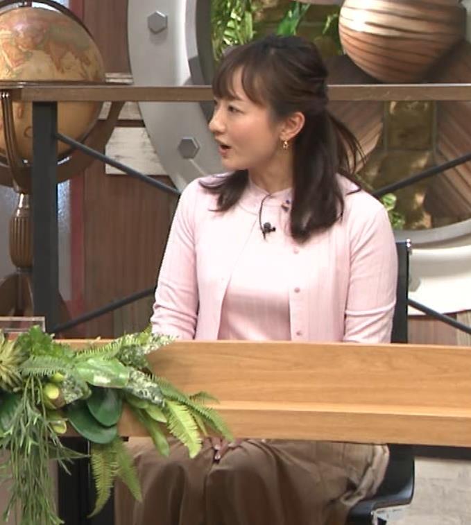 島本真衣アナ 乳がデカすぎキャプ・エロ画像12