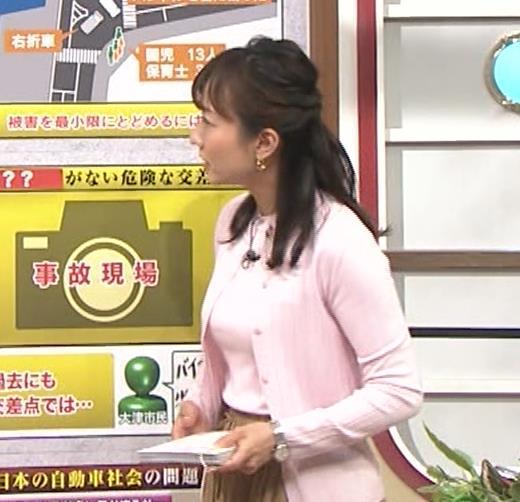島本真衣アナ 乳がデカすぎキャプ・エロ画像3