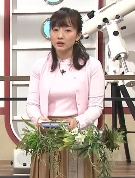島本真衣アナ 乳がデカすぎキャプ・エロ画像10