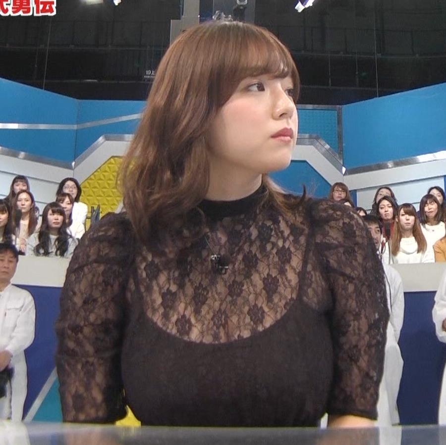 篠崎愛 韓国のテレビに出演するときのほうがおっぱい出しているみたい 「ナカイの窓」よりキャプ・エロ画像4