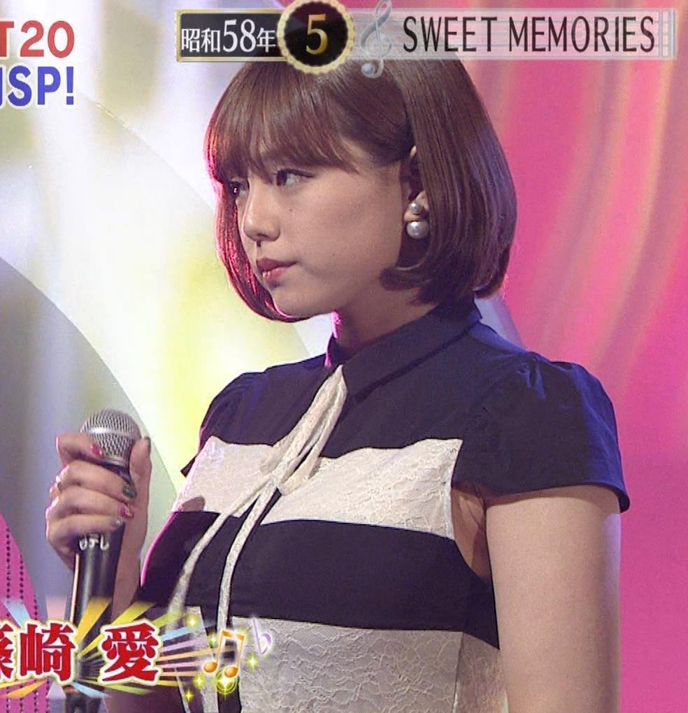 篠崎愛 着衣おっぱい&ワキ肉がエロいキャプ・エロ画像6