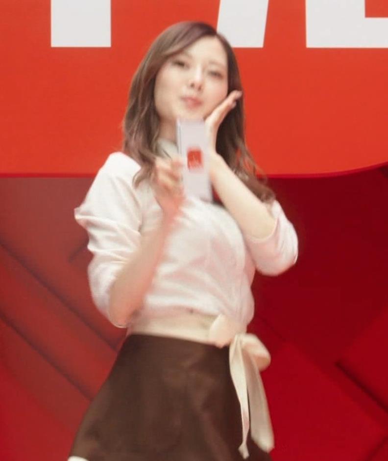 白石麻衣 エロかわいいコスプレCMキャプ・エロ画像10