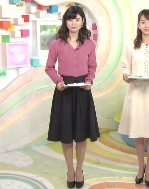 曽田麻衣子 ニットのカーディガンキャプ画像(エロ・アイコラ画像)