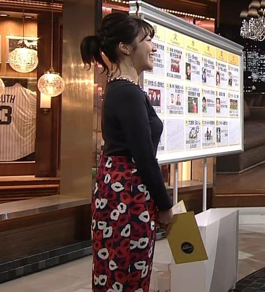 副島萌生アナ おっぱいがデカくてエロいぃキャプ・エロ画像2